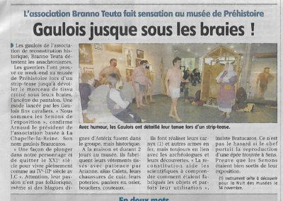 La Branno Au Musée de Nemours- Octobre 2020